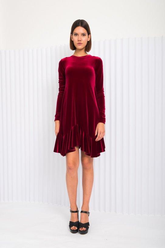 haljina Lindy pliš