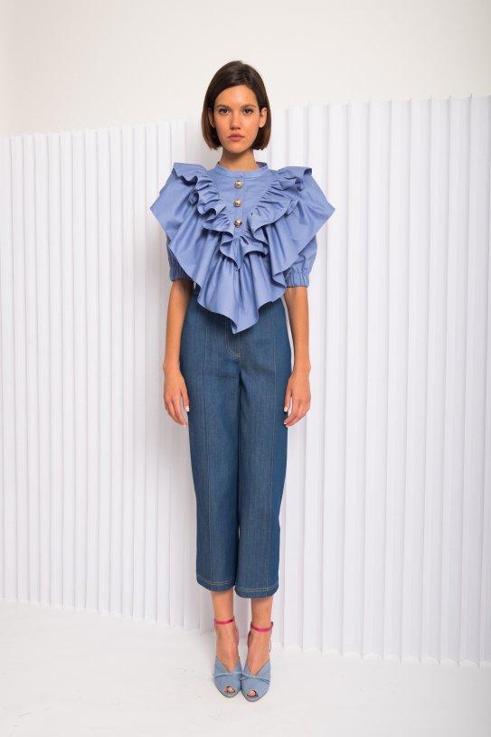 blouse Violet