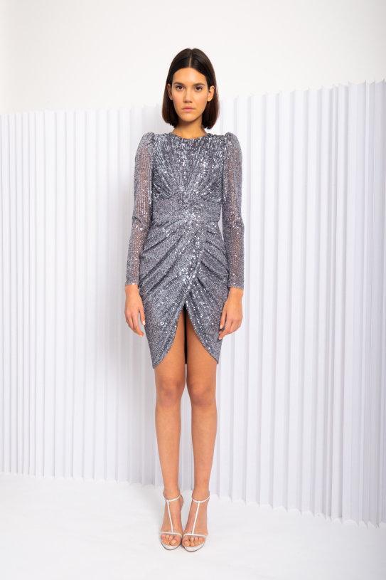 haljina Maisie šljokice