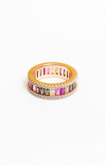Prsten Circle Color
